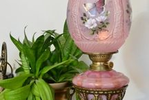 Old fashioned oil Lamps