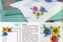 flower punto croce