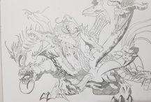 I miei disegni! My sketch ✍