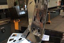 fotel metal