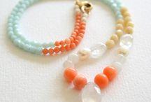 semi-precious necklace / A collection of semi-precious necklace designs, handmade jewellery in unique and limited edition designs
