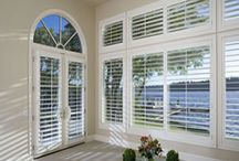 Window Shutters / These are stylish Plantation Window Shutters that not only increase the re-sale value of your home, but also add a timeless beauty to it.  / by Window Fashion Pros