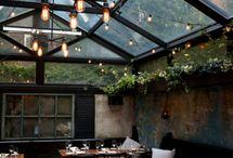 veranda et restaurant