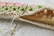 Crochet  coat hanger covers