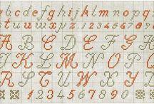 literki i  cyfry