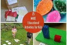 kids educational activities