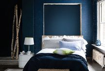 Into Indigo / Incorporating rich shades of indigo throughout the home