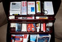 """Emergency------"""" ..first aide kit,""""...... / Should be prepared,"""
