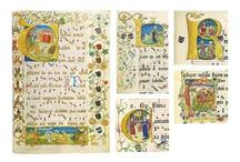 Scribal & Illumination / by Penelope Fritts