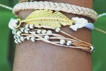 Bracelet in summer