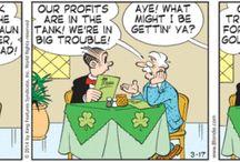 St. Patrick's Day Comics