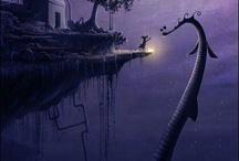 Illustrations ♥ Loch Ness