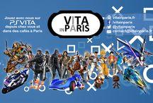 VITA in Paris / Communauté de joueurs adultes sur PS Vita qui propose des rendez-vous pour jouer en ligne et dans des cafés à Paris, France.
