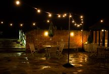 Our Festoon Lighting / Pictures of weddings & events where we have provided festoon lighting in different configurations and styles.