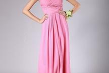 bridesmaid dress idea's
