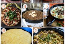Cast iron love... / How to care for and what to make in cast iron skillets