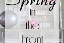 Blog Posts - Spring / Spring Decor Ideas
