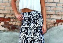 Maxi vestidos y faldas