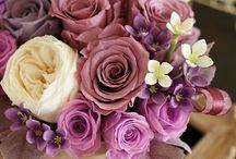 【紫・パープル】プリザーブド / Flower noteのプリザーブドアレンジ。 紫・バープルのギャラリーです。