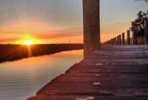 Outer Banks Sunrise/Sunset / One of the beauties of the Outer Banks is its gorgeous sunrises and sunsets!  / by The Outer Banks