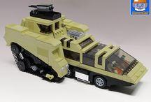 Sci-Fi custom Lego models