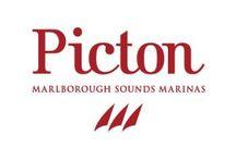Picton Marina / Picton Marina, Picton, Marlborough Sounds, New Zealand.