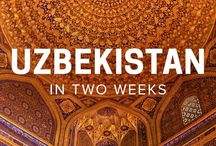 Lähi-itä ja Keski-Aasia / Middle East and Central Asia / Inspiraatiota ja matkavinkkejä Lähi-itään, Kaukasiaan ja Keski-Aasiaan (Kazakstan, Kirgisia, Tadžikistan, Turkmenistan ja Uzbekistan).