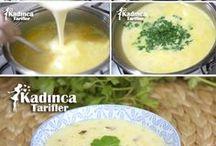 çorbalar ve salatalar