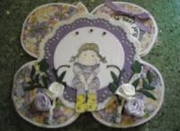 # 10 Flower card / Template # 10 Flower card available at www.sandrasscrapshop.blogspot.com