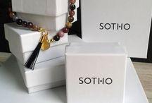 LOGOWANE PUDEŁECZKA SOTHO / W takie pudełeczka pakujemy nasze produkty.
