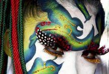 Facial Art / by Dichroic GlassMan