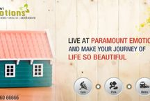 3 BHK Flat in Noida / Paramount Emotions has come up with the beautiful project Paramount Emotions. The location of the project is very nice and the flats are available at affordable prices. http://goo.gl/fHl0Mg