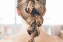 Adriennes hair
