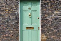 дверь мята