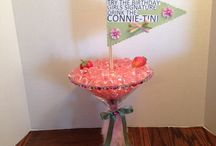 Stuff my sis and I made for friends Shabby Chic party! / by Theresa
