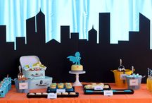 super hero inspiration / www.experiencespecialist.com is planning a surprise 40th birthday party with a super hero theme and this is some of our inspiration!
