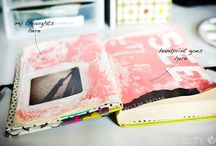 Journaling | Travel, Sketch and Art Journaling / Photos, doodles, quotes, textures, and more.