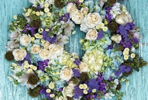 wreaths / by lillie's flowers for weddings and celebrations
