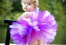 Ensaio infantil com tutu de bailarina