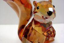 Crystal figurines / by Patty Grim