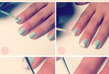 Nails How To's / Always looking for unique and cool ideas for painting my nails. / by Rose Stumbaugh