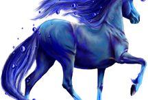 chevaux magique