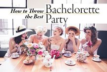 Bachelorette Party Inspiration / Planning a bachelorette party? Get all of the best advice and inspiration for your bachelorette party right here!
