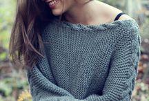 Pullover mit zopfrand evtl mit der braunen wolle :-/