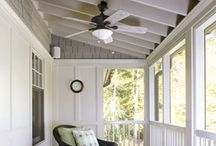 Screened-in Porches / When the summer arrives and the bugs get nasty, having a screened-in porch allows you to enjoy the outdoors without getting eaten alive!  Here's a collection of screened-in porches that exhibit both functionality and beauty.