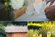 mesa de bebidas