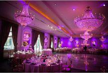 #Uplighting #Wallwashing / #Uplighting #mood #lighting #wallwashing can transform your #wedding #reception