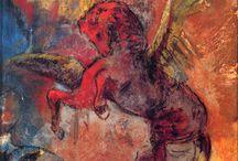 Redon / Storia dell'Arte Pittura  19°-20° sec. Odilon Redon  1840-1916