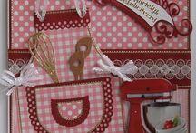 Card crafts kitchen