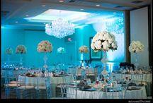 Flower Cart Wedding Centerpieces